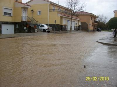 Izquierda Unida exige una mejor planificación de la canalización de las aguas en Miranda de Azán