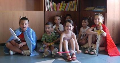 Miranda de Azán inaugura una ludoteca para los más pequeños para julio y agosto